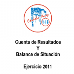 CUENTA DE RESULTADOS Y BALANCE DE SITUACIÓN 2011 PORTADA